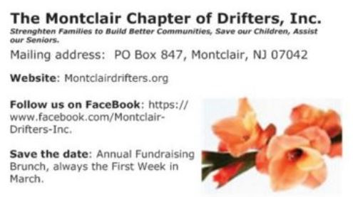 Contact The Montclair Chapter of Drifters, Inc.